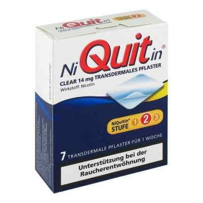 NiQuitin Clear 14mg/24 Stunden  bei apolux.de bestellen