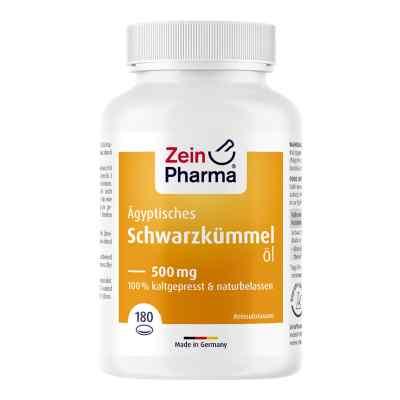 ägyptisches Schwarzkümmelöl Kapseln 500 mg  bei apolux.de bestellen