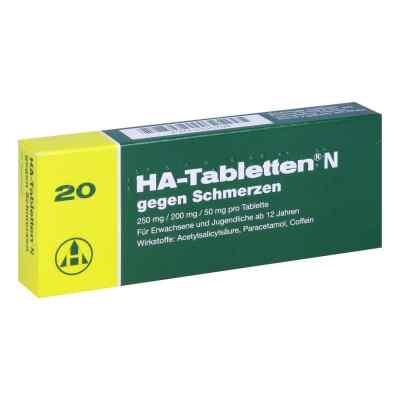 HA-Tabletten N gegen Schmerzen  bei apolux.de bestellen