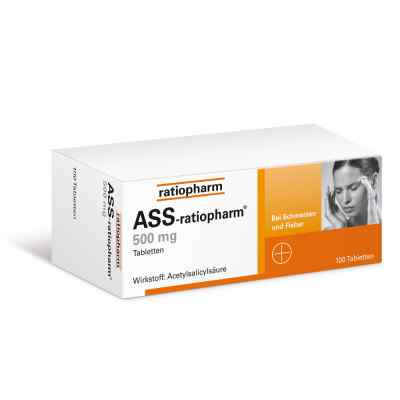 ASS-ratiopharm 500mg  bei apolux.de bestellen