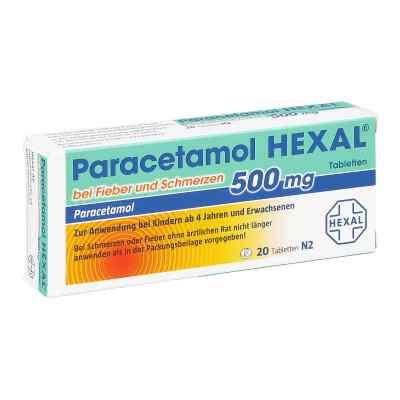 Paracetamol 500mg HEXAL bei Fieber und Schmerzen  bei apolux.de bestellen