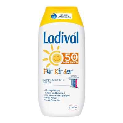 Ladival Kinder Sonnenmilch Lsf 50+  bei apolux.de bestellen