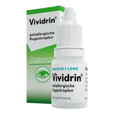 Vividrin antiallergische Augentropfen  bei apolux.de bestellen