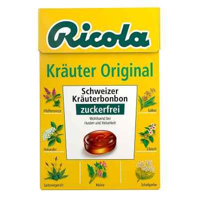 Ricola ohne Zucker  Box Kräuter Bonbons  bei apolux.de bestellen