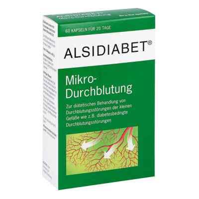 Alsidiabet Diabetiker Mikro Durchblutung Kapseln  bei apolux.de bestellen