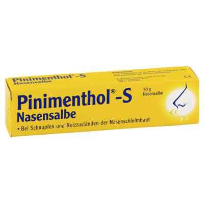 Pinimenthol S Nasensalbe  bei apolux.de bestellen