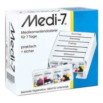 Medi 7 Medikamenten Dosierer für 7 Tage  bei apolux.de bestellen