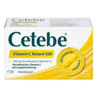 Cetebe Vitamin C Retardkapseln 500 mg  bei apolux.de bestellen