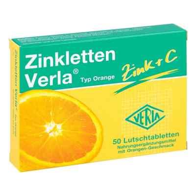 Zinkletten Verla Orange Lutschtabletten  bei apolux.de bestellen