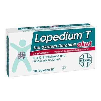 Lopedium T akut bei akutem Durchfall  bei apolux.de bestellen