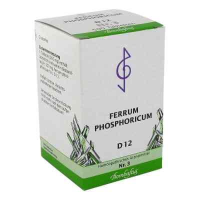 Biochemie 3 Ferrum phosphoricum D 12 Tabletten  bei apolux.de bestellen