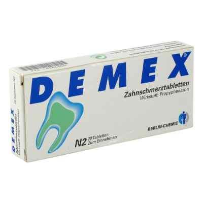 DEMEX Zahnschmerztabletten  bei apolux.de bestellen