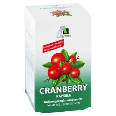 Cranberry Kapseln 400 mg  bei apolux.de bestellen