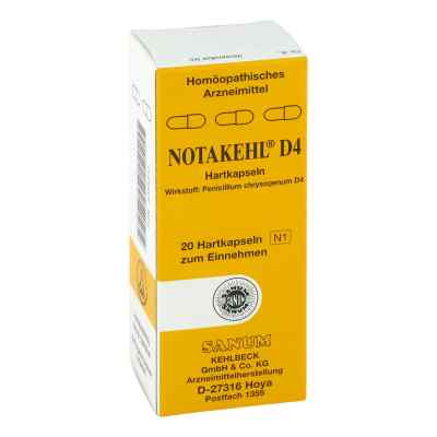 Notakehl D4 Kapseln  bei apolux.de bestellen