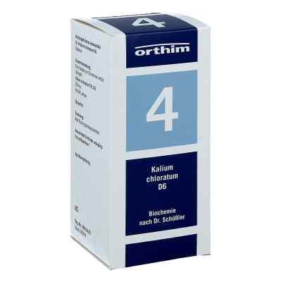 Biochemie Orthim 4 Kalium chloratum D 6 Tabletten  bei apolux.de bestellen
