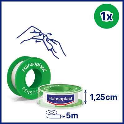 Hansaplast Fixierpflaster sensitive 5mx1,25cm  bei apolux.de bestellen