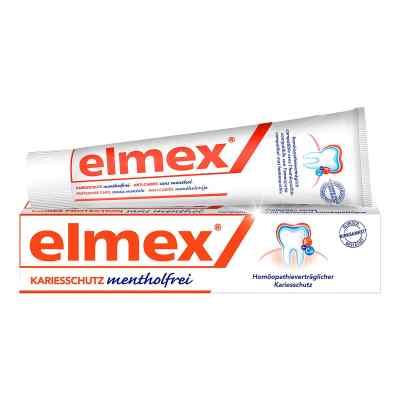 Elmex mentholfrei Zahnpasta mit Faltschachtel  bei apolux.de bestellen