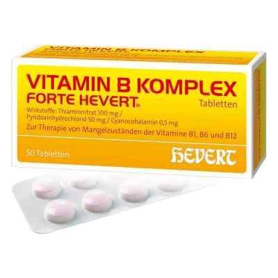 Vitamin B Komplex forte Hevert Tabletten  bei apolux.de bestellen