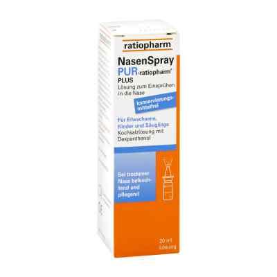 Nasenspray pur ratiopharm plus  bei apolux.de bestellen