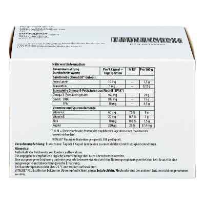 Vitalux Plus Lutein und Omega 3 Kapseln  bei apolux.de bestellen