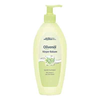 Olivenöl Körper-balsam im Spender  bei apolux.de bestellen
