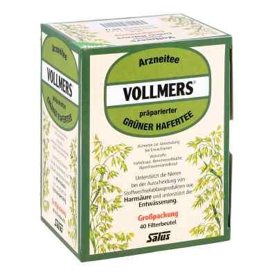 Vollmers präparierter grüner Hafertee Filterbeutel  bei apolux.de bestellen