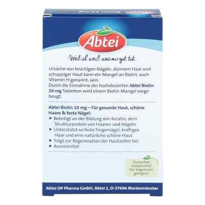 Abtei Biotin 10 mg Tabletten  bei apolux.de bestellen