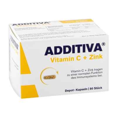 Additiva Vitamin C+zink Depotkaps.aktionspackung  bei apolux.de bestellen
