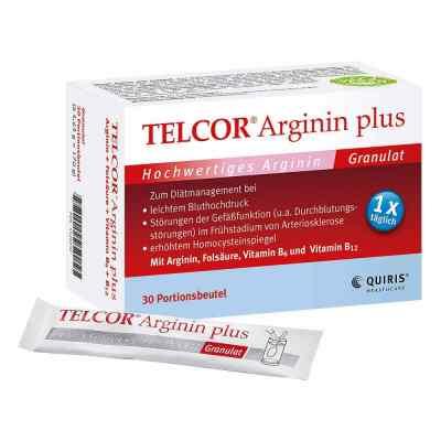 Telcor Arginin plus Beutel  Granulat  bei apolux.de bestellen