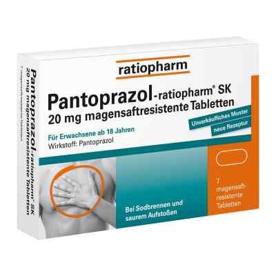Pantoprazol-ratiopharm SK 20mg  bei apolux.de bestellen