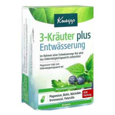 Kneipp 3-kräuter Entwässerung Kapseln  bei apolux.de bestellen
