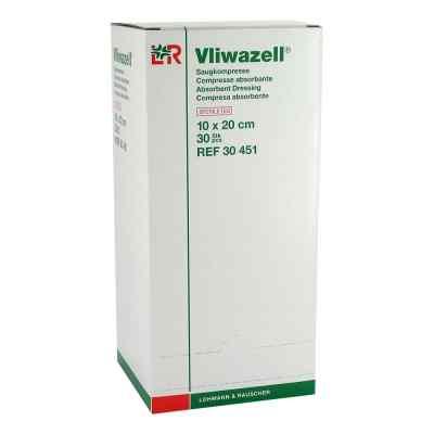 Vliwazell Saugkompressen 10x20 cm steril  bei apolux.de bestellen