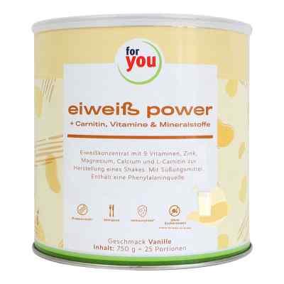 For You Eiweiss Power Vanille  bei apolux.de bestellen