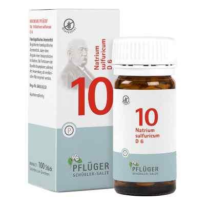Biochemie Pflüger 10 Natrium Sulfur D  6 Tabletten  bei apolux.de bestellen