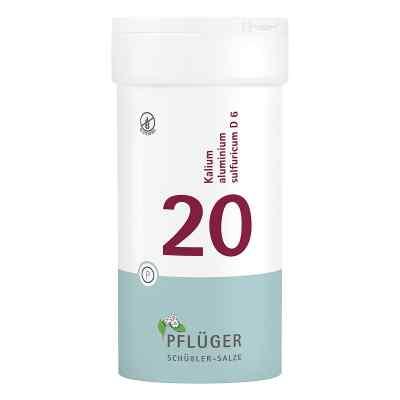 Biochemie Pflüger 20 Kalium alum.sulf.D 6 Tabletten   bei apolux.de bestellen