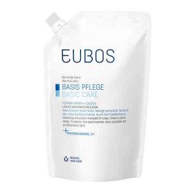 Eubos Flüssig blau Nachfüllpackung unparfüm.  bei apolux.de bestellen