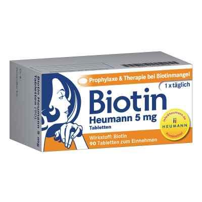 Biotin Heumann 5 mg Tabletten  bei apolux.de bestellen