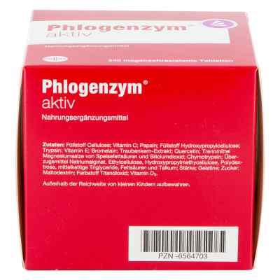 Phlogenzym aktiv magensaftresistente Tabletten  bei apolux.de bestellen