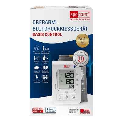 Aponorm Blutdruck Messgerät Basis Control O.arm  bei apolux.de bestellen