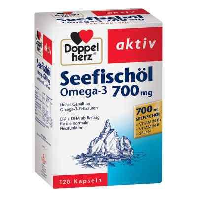 Doppelherz Seefischöl Omega-3 700 mg Kapseln  bei apolux.de bestellen