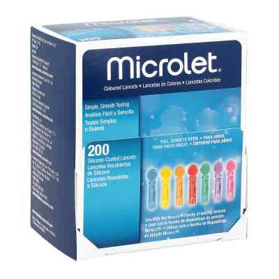Microlet Lanzetten farbig  bei apolux.de bestellen