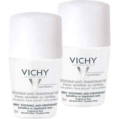Vichy Deo Roll on Sensitiv Anti transparent 48h Doppelp.  bei apolux.de bestellen