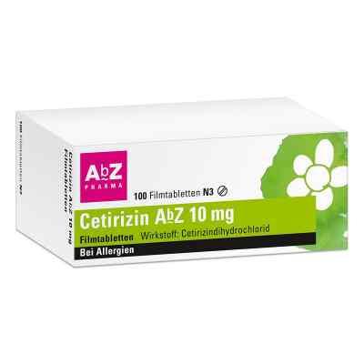 Cetirizin AbZ 10mg  bei apolux.de bestellen