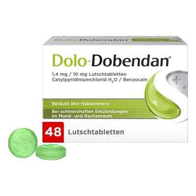 Dolo-Dobendan gegen Halsschmerzen 1,4mg/10mg  bei apolux.de bestellen