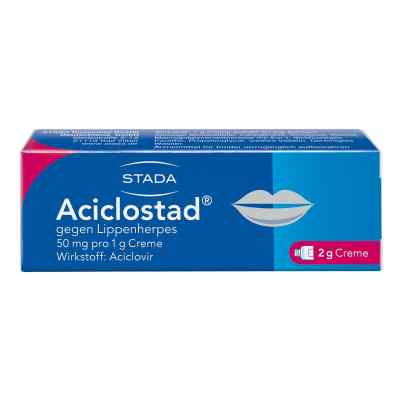 Aciclostad gegen Lippenherpes 50mg pro 1g  bei apolux.de bestellen