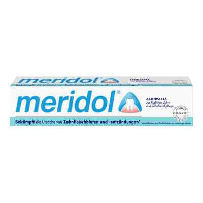 Meridol Zahnpasta mit Faltschachtel  bei apolux.de bestellen