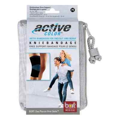 Bort Activecolor Kniebandage medium schwarz  bei apolux.de bestellen