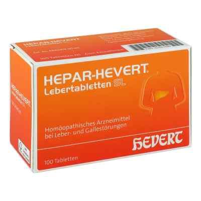 Hepar Hevert Lebertabletten Sl  bei apolux.de bestellen