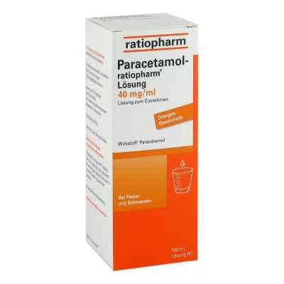 Paracetamol-ratiopharm 40mg/ml Lösung zum Einnehmen  bei apolux.de bestellen