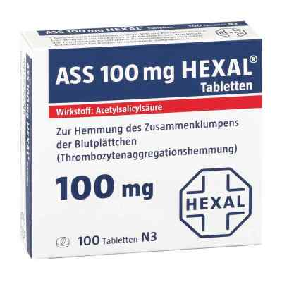 ASS 100mg HEXAL  bei apolux.de bestellen